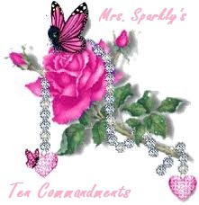 mrs sparkly ten commandments2