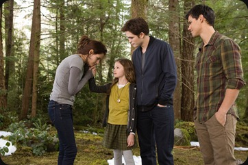 Breaking Dawn parentage