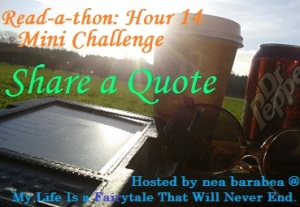 readathon challenge my