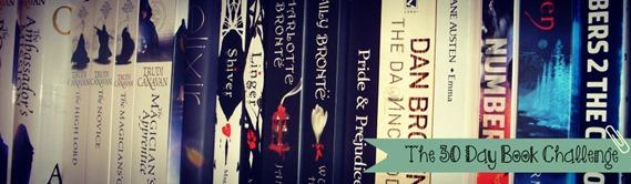 30 Day Book Challenge Banner