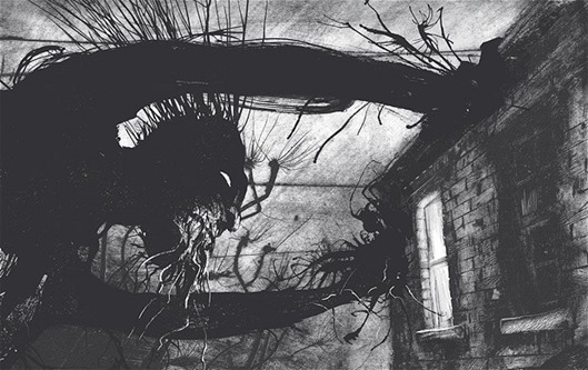 a monster calls illustration.