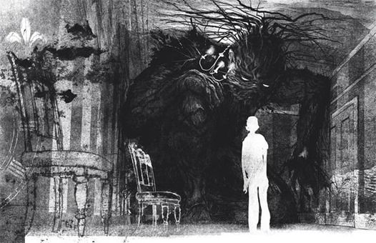 a monster calls illustration