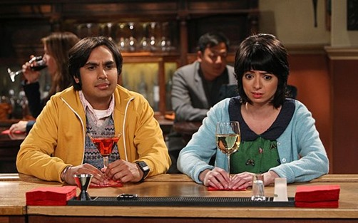 """The Love Spell Potential"" -- Koothrappali (Kunal Nayyar) and Lucy (Kate Micucci) go on a very awkward date, on THE BIG BANG THEORY, Thursday, May 9 (8:00 – 8:31 PM, ET/PT) on the CBS Television Network. Photo: Monty Brinton/CBS ©2013 CBS Broadcasting Inc. All Rights Reserved"