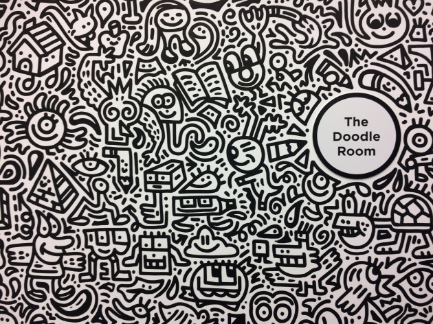 the doodle room sense of space