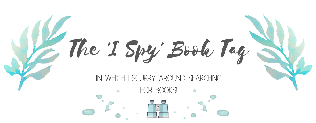 The 'I Spy' Book Tag Challenge