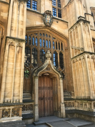 Oxford Divinity School door