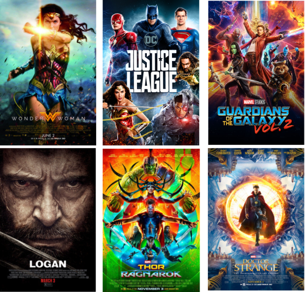 October film wrap up 2018