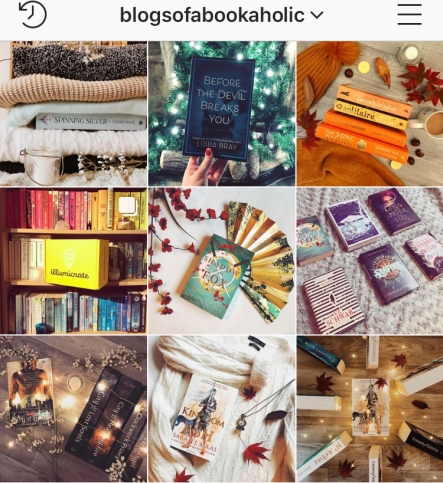 blogsofabookaholic bookstagram 2