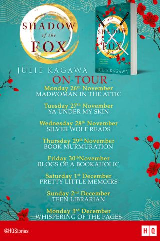 Shadow of the Fox blog tour
