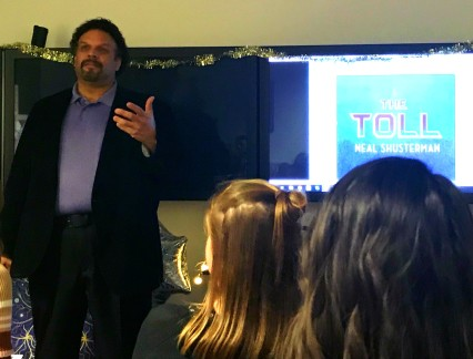 Neal Shusterman discusses The Toll, Arc of Scythe