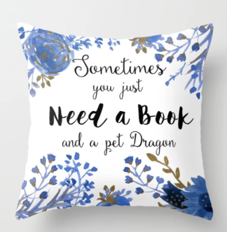 Paper Fury Dragon cushion society 6