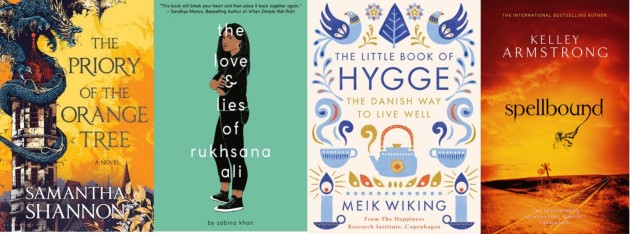 Books read March wrap up 2019