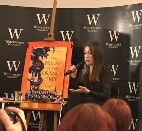 Samantha Shannon Waterstones Piccadilly