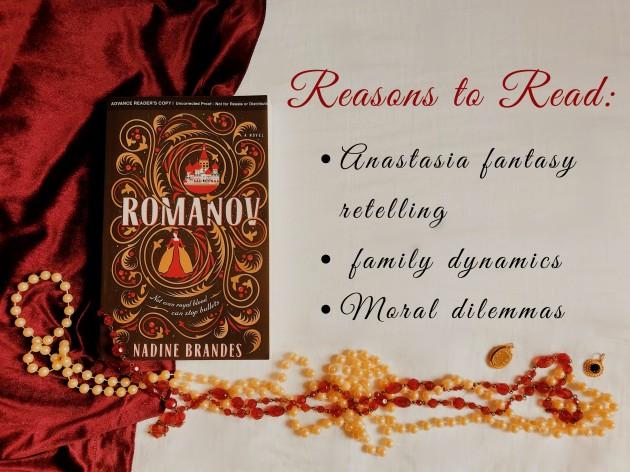 Reasons to Read Romanov by Nadine Brandes